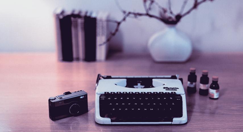Desk Typewriter Camera