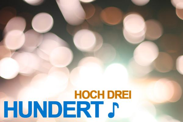 Hundert Hoch Drei 2011