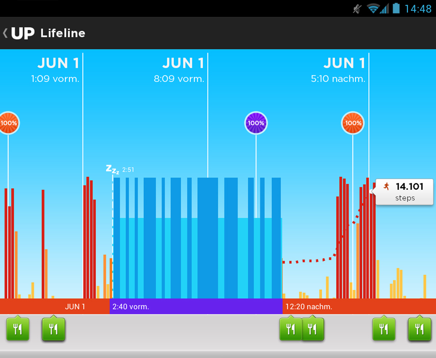 Jawbone UP App Screenshot 03