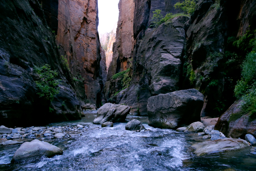 Zion National Park The Narrows